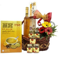 Send easter gifts to singapore low cost easter gifts delivery in this gift baskets contains of brbottle of honey negle Image collections