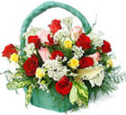 Seasonal Flowers Basket 1
