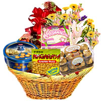 Surprise Chocolates Basket