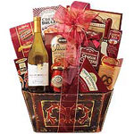 Provocative Gourmet Hamper with Wine - Medium